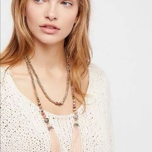 Free people x nakamol shimmer tassel necklace 🌟🌟